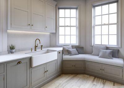 Stella Rossa Design Build_3D visualisation_Traditional Kitchen